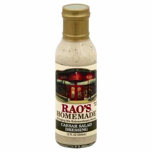 Rao's Homemade Caesar Salad Dressing Perspective: front