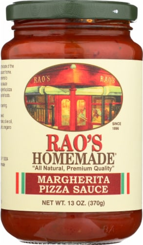 Rao's Homemade Margherita Pizza Sauce Perspective: front