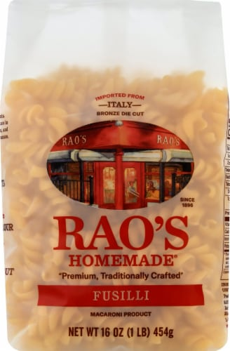 Rao's Homemade Fusilli Perspective: front