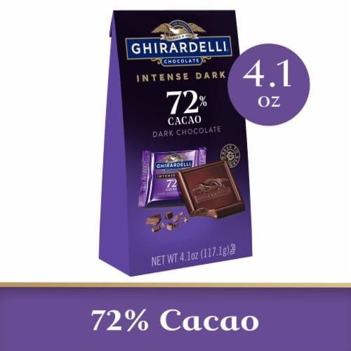 Ghirardelli Intense Dark 72% Cacao Twilight Delight Dark Chocolate Perspective: front