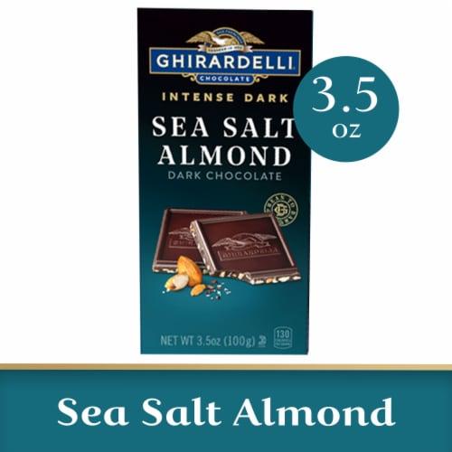 Ghirardelli Intense Dark Sea Salt Soiree Dark Chocolate Perspective: front