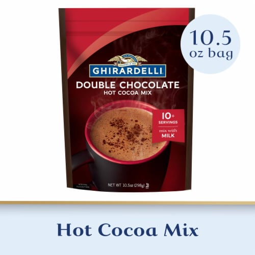 Ghirardelli® Double Chocolate Hot Cocoa Mix Perspective: front
