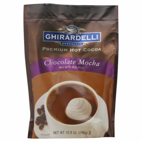 Ghirardelli Chocolate Mocha Hot Cocoa Perspective: front