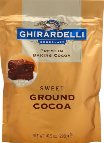Ghirardelli Sweet Ground Baking Cocoa Perspective: front