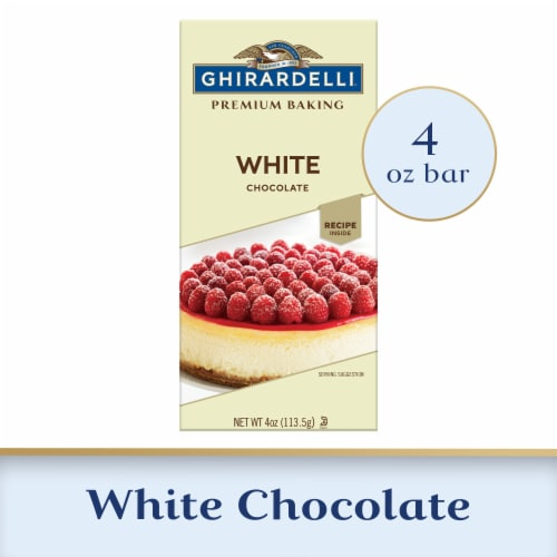 Ghirardelli White Chocolate Premium Baking Bar Perspective: front