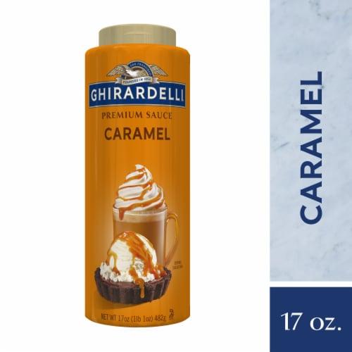 Ghirardelli Caramel Premium Sauce Perspective: front