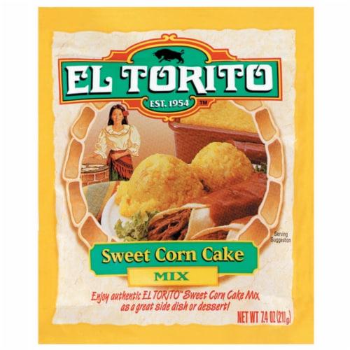 El Torito Sweet Corn Cake Mix Perspective: front