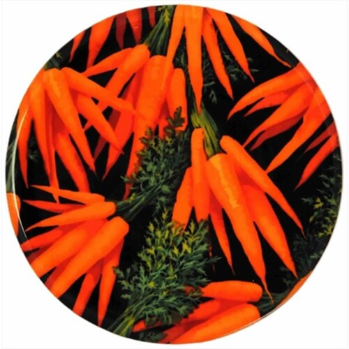 Andreas TR-211 Carrots Silicone Trivet - Pack of 3 trivets Perspective: front