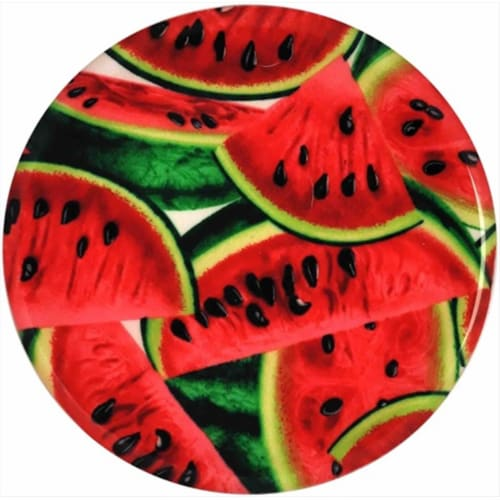 Andreas TR-242 Watermelon Silicone Trivet - Pack of 3 trivets Perspective: front