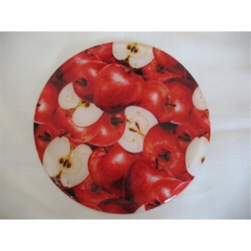 Andreas TRC-1 Apple Casserole Silicone Trivet - Pack of 3 trivets Perspective: front