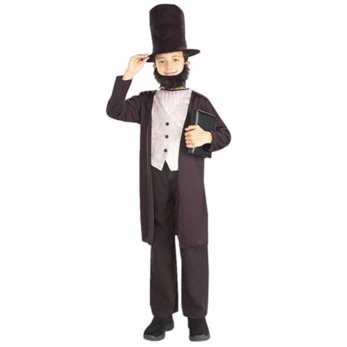 Costumes for all Occasions FM58268MD Abraham Lincoln Child 8-10 Perspective: front