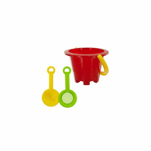 Bulk Buys SK034-72 Beach Pail and Tools Perspective: front