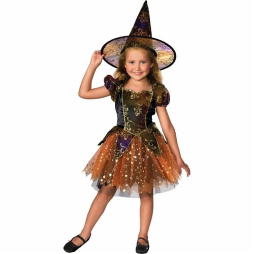 Costumes For All Occasions Ru882684Md Elegant Witch Child Md Perspective: front