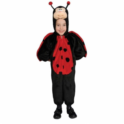Costumes For All Occasions Up271Ts Little Ladybug Toddler Size 2 Perspective: front