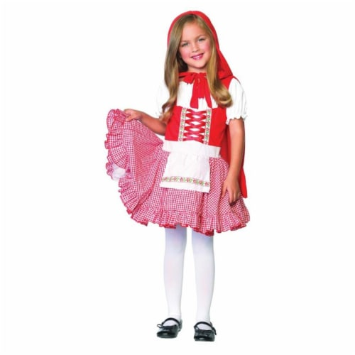 Costumes For All Occasions Uac48120Md Lil Miss Red Medium Perspective: front