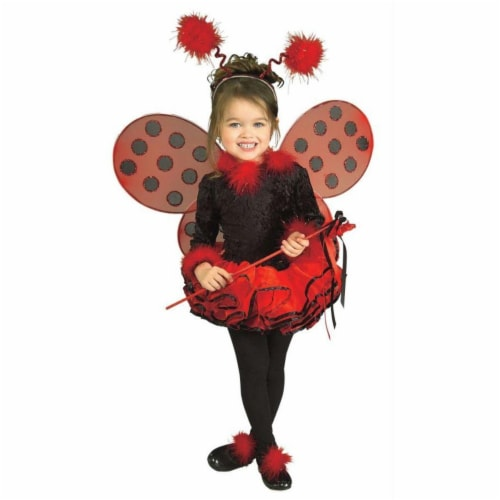 Costumes For All Occasions Ru885288Sm Lady Bug Child Costume Small Perspective: front