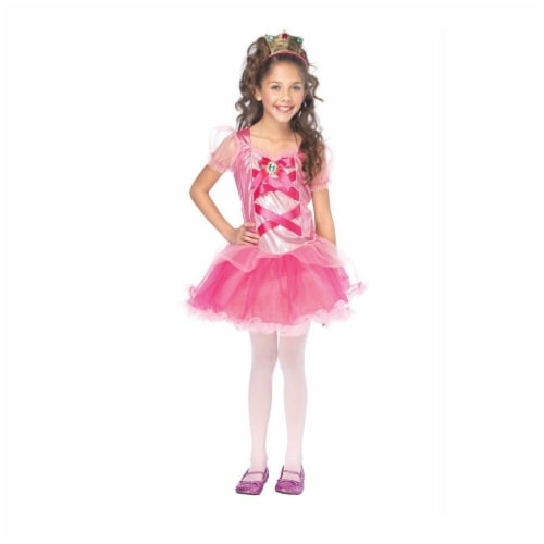 Costumes For All Occasions Uac48137Md Pretty Princess Child Medium Perspective: front
