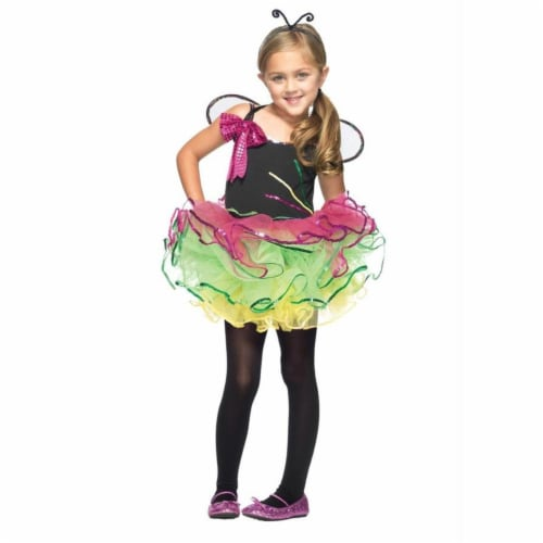 Costumes For All Occasions Uac48151Xs Rainbow Bug Child Xsmall 3-4 Perspective: front