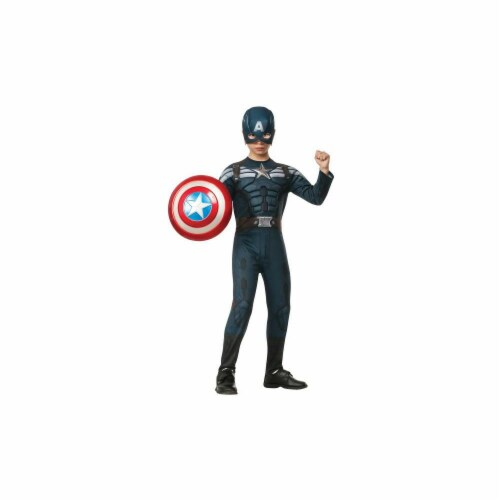 MorrisCostumes RU885077SM Captain America 2 Stealth, Small Perspective: front