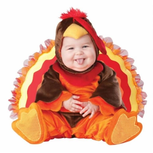 Costumes For All Occasions Ic6030T Lil Gobbler Inf 18M-2T Perspective: front