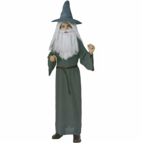 Costumes For All Occasions RU881459LG Hobbit Gandalf Child Large Perspective: front