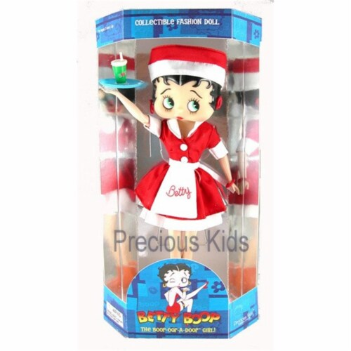 Precious Kids 31128 Car Hop Betty Boop Fashion Doll Perspective: front