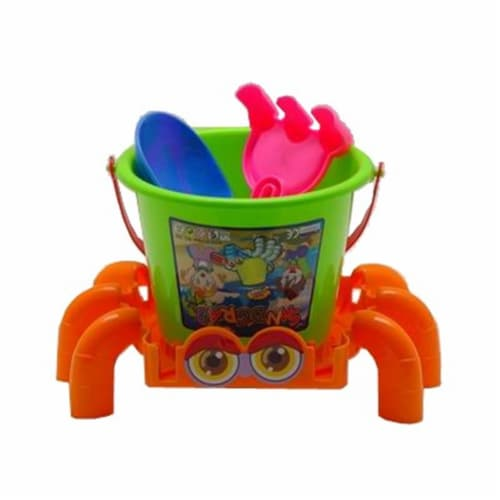 Sunshine Trading BT-15 Crab Sand Toy - 4 Piece Set Perspective: front
