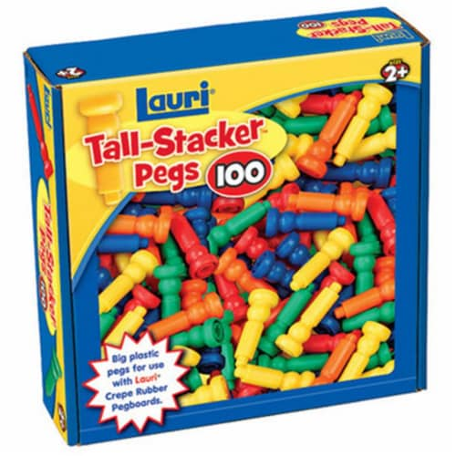 Patch Products 2439 Tall-Stacker Pegs - 100 Pack Perspective: front
