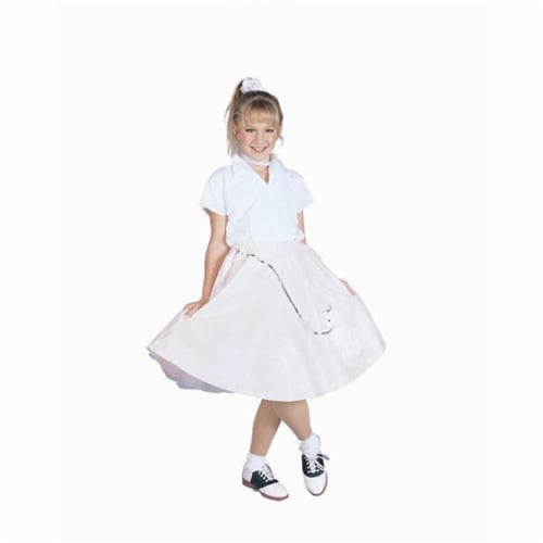 RG Costumes 91138-V-S Purple Poodle Skirt With Shirt Costume - Size Child-Small Perspective: front