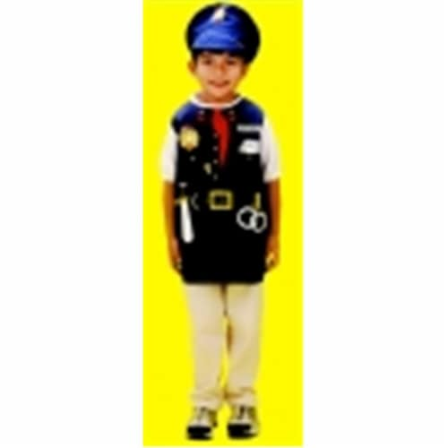 Dexter Toys Police Officer Costume Perspective: front