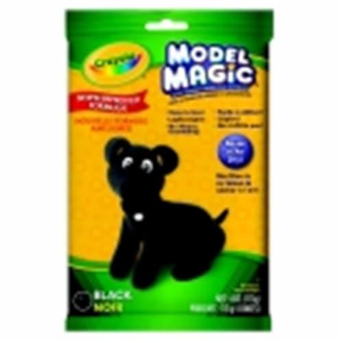 Crayola Non-Toxic Model Magic Mess-Free Modeling Dough - 4 Oz. - Black Perspective: front