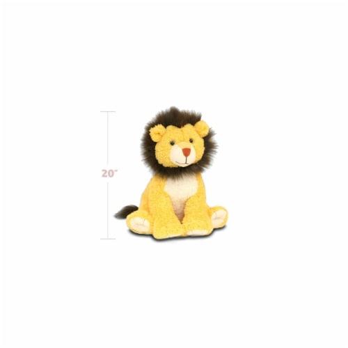 Beverly Hills Teddy Bear Company 8181 Worlds Softest Plush 20 in. Lion Worlds Softest Plush Perspective: front