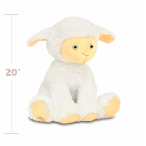 Beverly Hills Teddy Bear Company 8182 Worlds Softest Plush 20 in. Lamb  Worlds Softest Plush Perspective: front