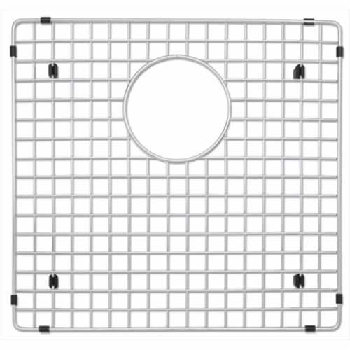Blanco 223190 Stainless Steel Sink Grid for Precision & Precision 10 1.75 in. Left Bowl Perspective: front