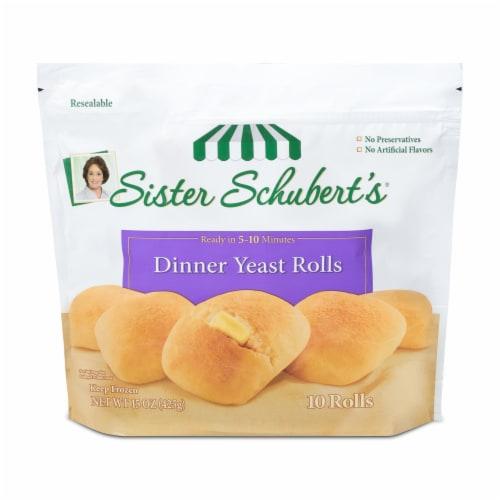 Sister Schubert's Dinner Yeast Rolls Perspective: front
