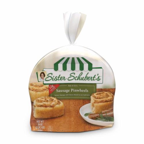 Sister Schubert's Bake & Serve Sausage Wrap Rolls Perspective: front
