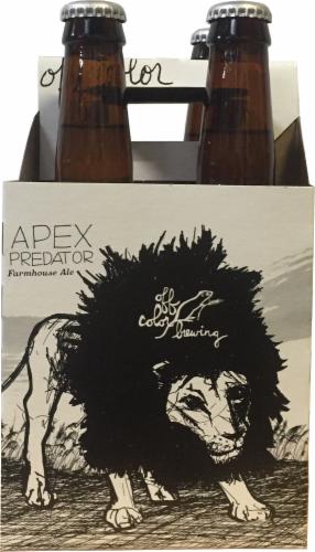 Off Color Brewing Apex Predator Farmhouse Ale Perspective: front