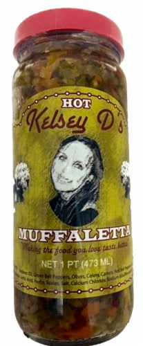 Kelsey D's Hot Muffaletta Perspective: front