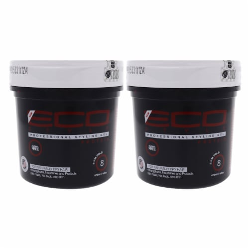 Eco Style Gel - Regular Protein by Ecoco for Unisex - 16 oz Gel - Pack of 2 Perspective: front