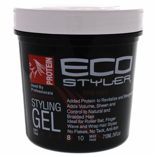Eco Style Gel - Regular Protein by Ecoco for Unisex - 24 oz Gel Perspective: front