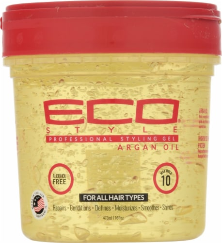ECO Styler Argan Oil Max Hold 10 Professional Styling Gel Perspective: front