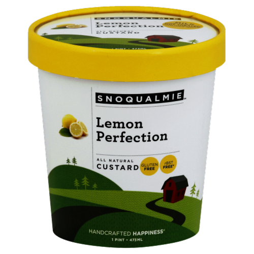 Snoqualmie Lemon Perfection Custard Perspective: front