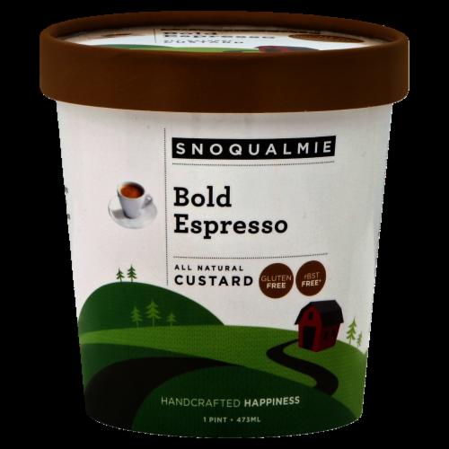 Snoqualmie Bold Espresso Custard Perspective: front