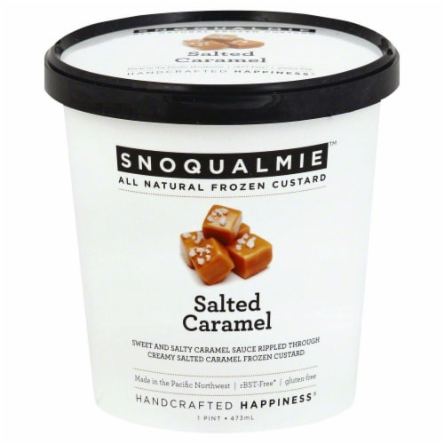 Snoqualmie Salted Caramel Ice Cream Perspective: front