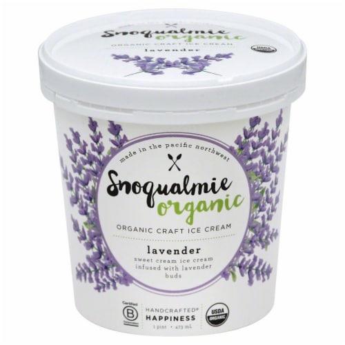 Snoqualmie Organic Lavender Ice Cream Perspective: front