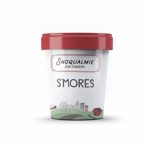 Snoqualmie Smores Ice Cream Perspective: front