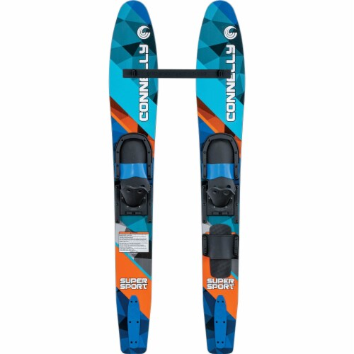 CWB Connelly Super Sport 55 Inch Water Sports Ski Combo and Ski Stabilizer Bar Perspective: front