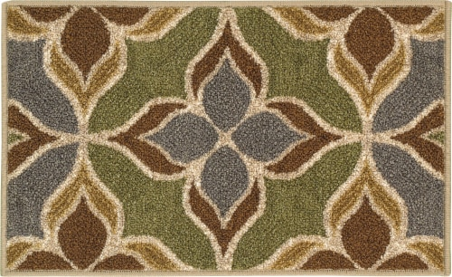 Oriental Weavers Carlisle Mosaic Accent Rug - Green Perspective: front