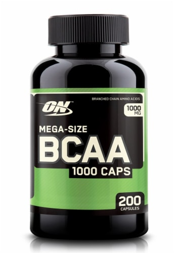 Optimum Nutrition  BCAA 1000 Caps Perspective: front