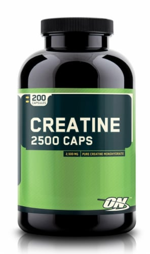 Optimum Nutrition  Creatine 2500 Caps Perspective: front